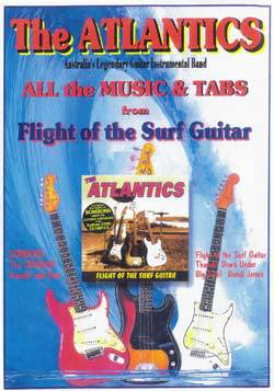 Flight of the Surf Guitar Tab Book